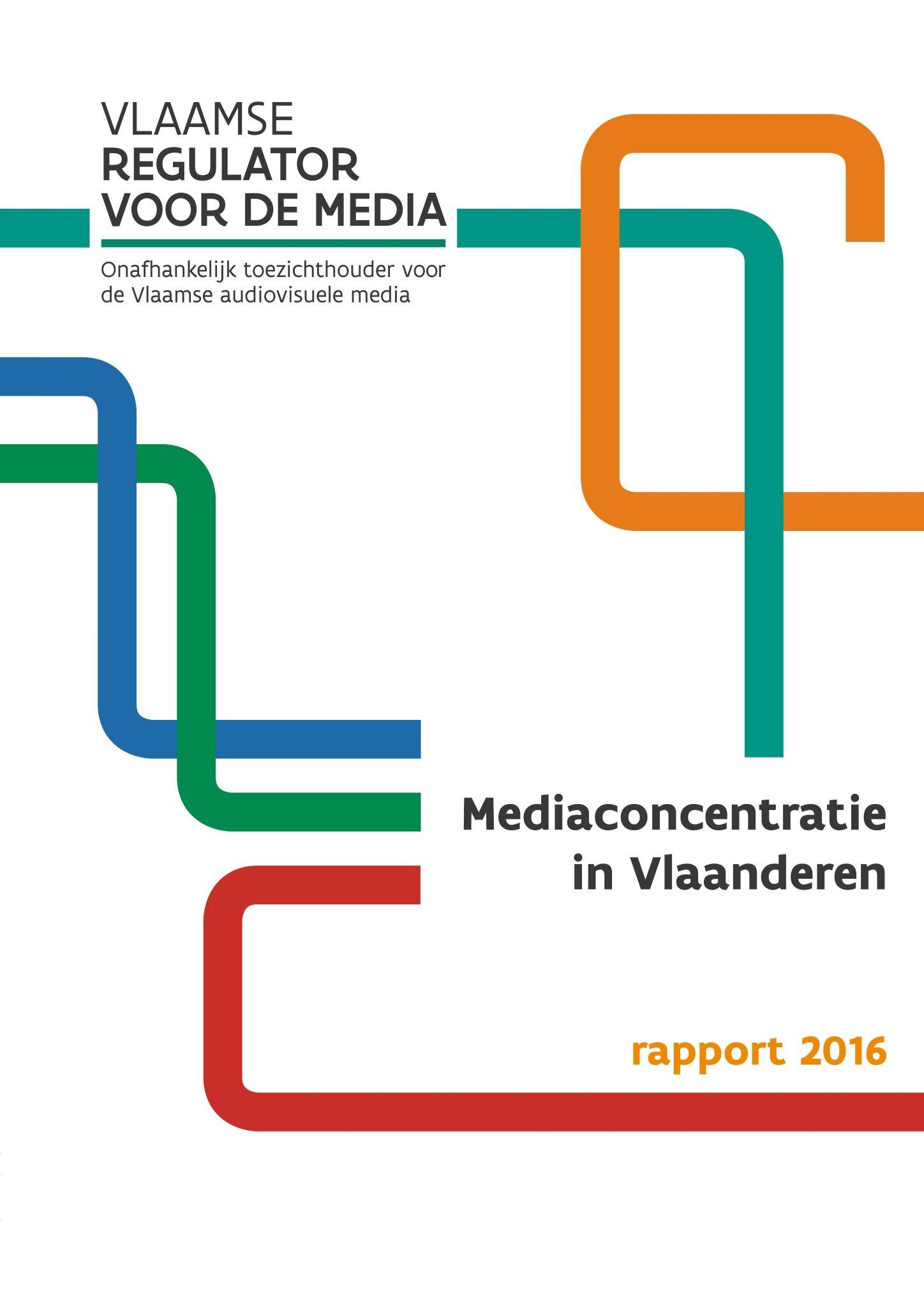 Mediaconcentratie in Vlaanderen 2016