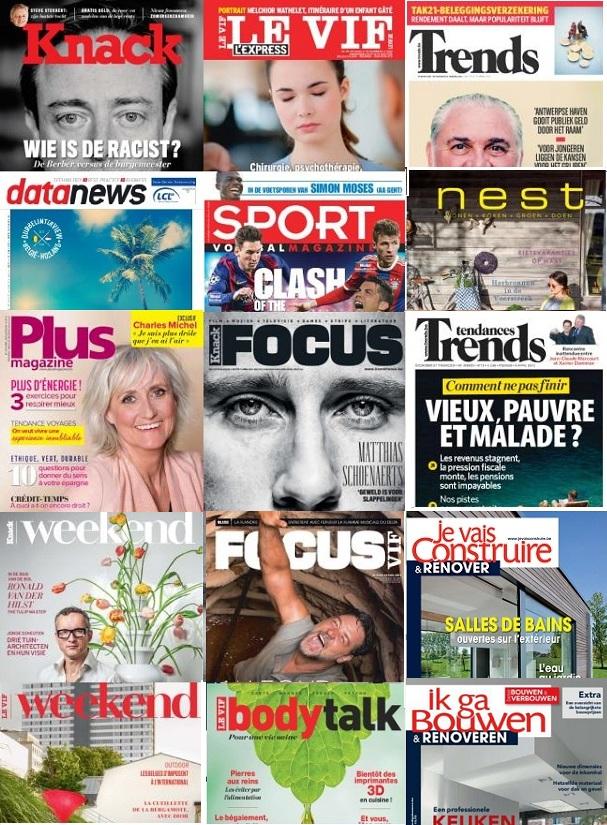 Roularta magazines