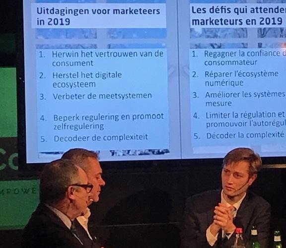 Chris Van Roey bespreekt de uitdagingen voor merken en adverteerders in 2019.