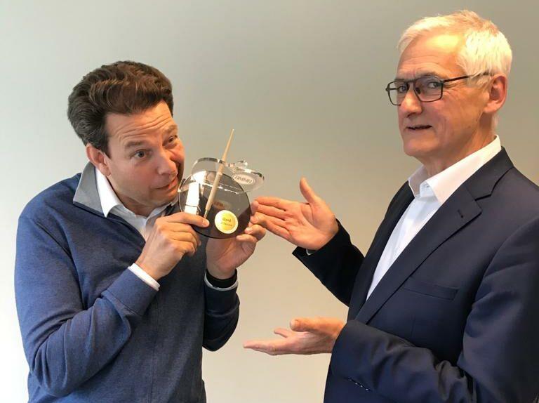 Bart Kuypers (MediaSpecs) & Wim Jansen (JCDecaux)